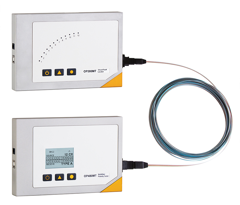 OP480-OP280 MTP/MPO and Ribbon Fiber Polarity Test System
